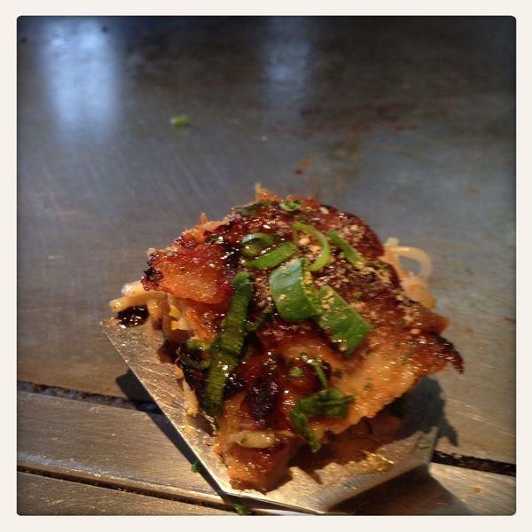 最後の一口がイッチャン美味い okonomiyaki