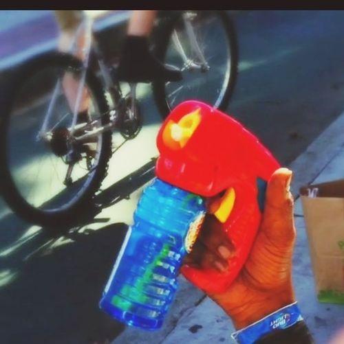 Bike IPhone5 Cinamatic Still Bubble Gun