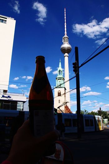 The Best Of Berlin Photographic Memory 06-12,June,2016 Drinking Beer Bottle Silhouette Tower Landmark Better Look Twice Perfect Match EyeEm Best Shots Sky Sky And City Traveling Berlin Showcase June The Mix Up The Best From Holiday POV Walking Around Street Photography Liquid Lunch Change Your Perspective Composition Urban Exploration Holiday POV The Street Photographer - 2016 EyeEm Awards My Year My View Capture Berlin Traveling Home For The Holidays Discover Berlin Connected By Travel Colour Your Horizn