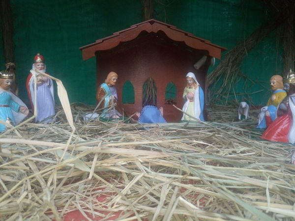 Christmas Collection Crib Day Female Likeness Human Representation Indoors  Merry Christmas Merry Christmas Eve! Merry Christmas! Nativity Church Nativity Figurine Nativity Scene No People Religion Sculpture Spirituality Traveling Home For The Holidays
