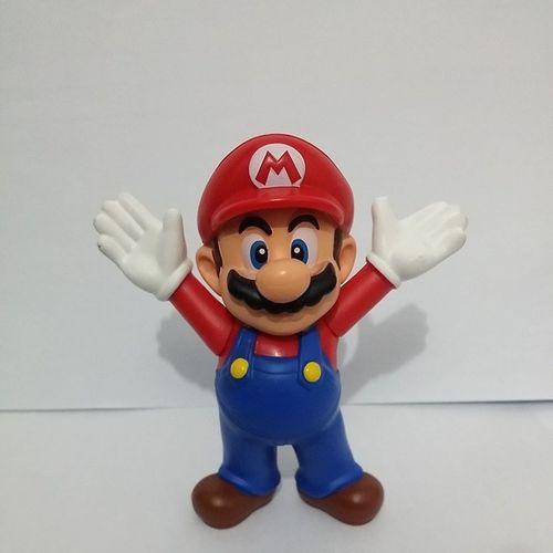 Mario Supermario Mariobross McDonald 's Lanche Mcfeliz Brinde Marioworld  Brinquedo Toy
