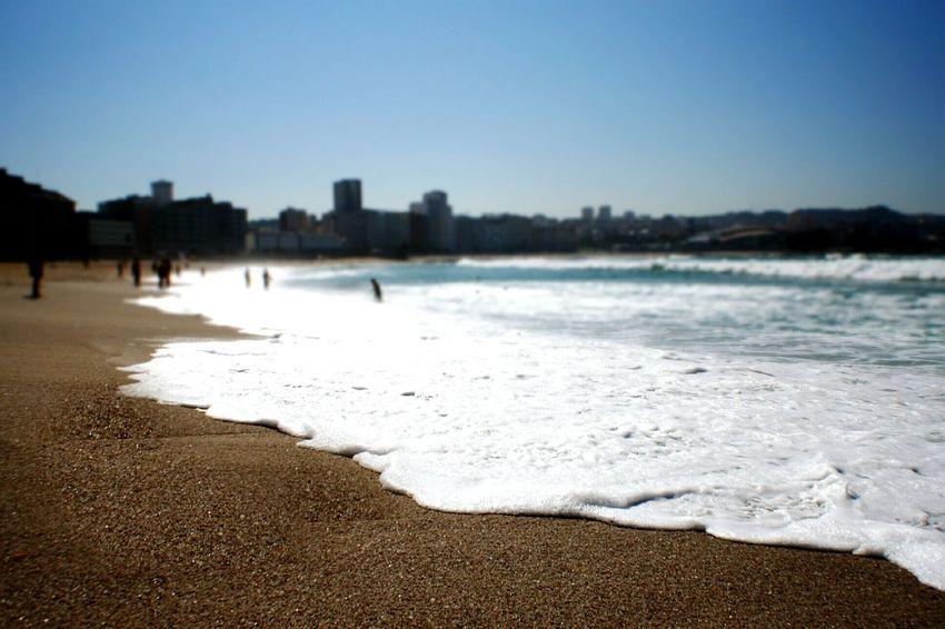 Landscape Beach Galicia Acoruña Sea Skyline