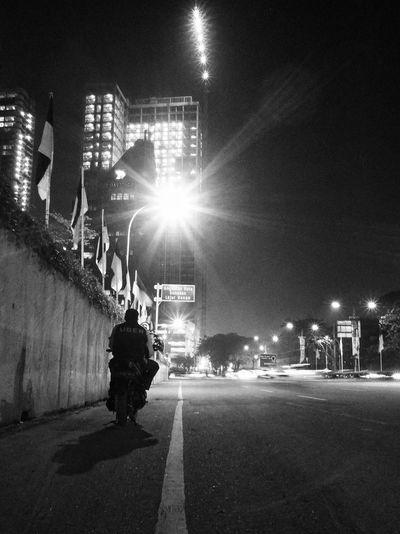 Work at night