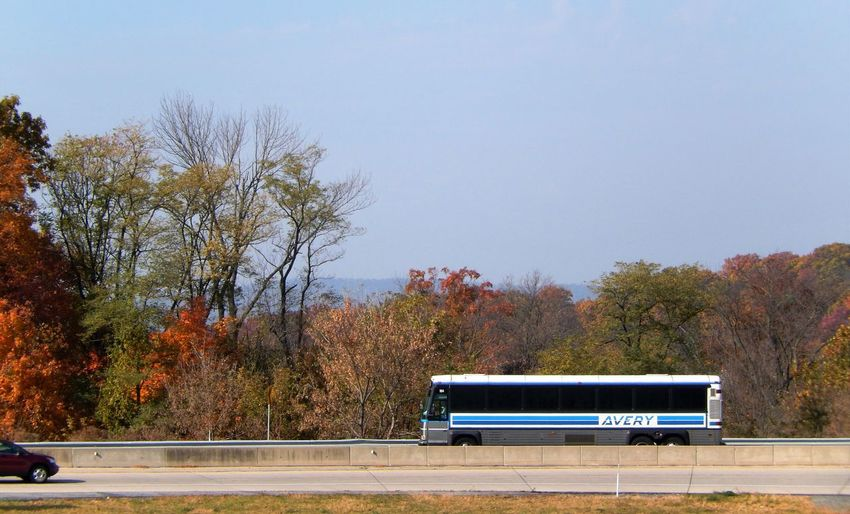 Transportation Outdoors Nature Autumn Vehicles On Ramp Bus Travel The Drive Eyeem Photography Eyeem Market EyeEm Gallery EyeEm EyeEm Best Shots - Landscape Landscapes Pennsylvania Off Ramp Highways Miles Away Let's Go. Together.