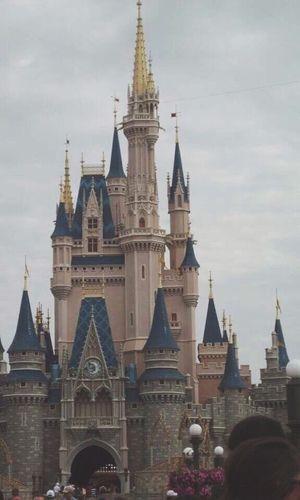 First Eyeem Photo Disney Castle Cinderella Castle Florida Princess Cinderella