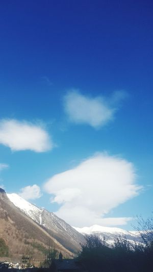 Snow Blue Mountain Cold Temperature Sky Cloud - Sky Snow Covered Snowcapped Snowcapped Mountain Shore Scenics
