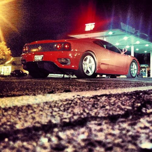 Just running to Albertsons you know... Jealousofyourlife Ferrari F430 Red Sex