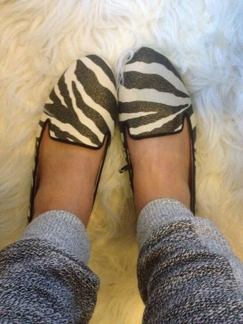 Shoes New Love Fashion Zebra