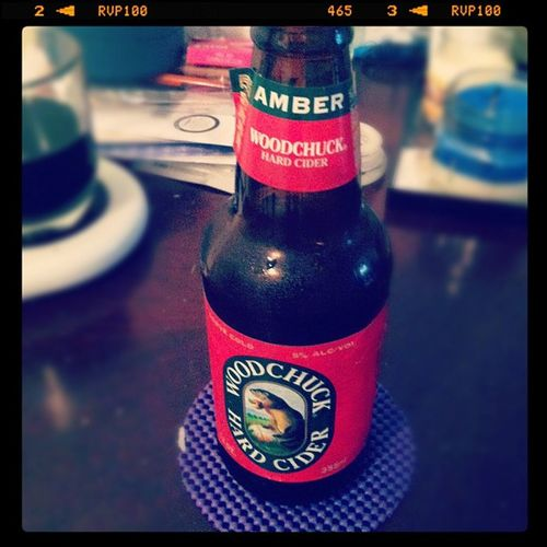 Delicious. Hardcider Woodchuck