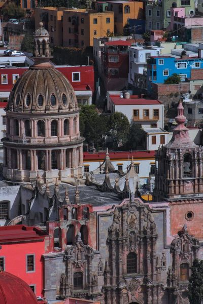 church 75 -300mm Canon T6 Guanajuato Church Architecture Building Exterior Built Structure Outdoors No People Day City