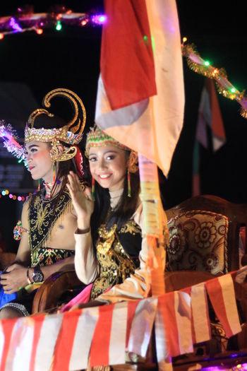 wayang dancer