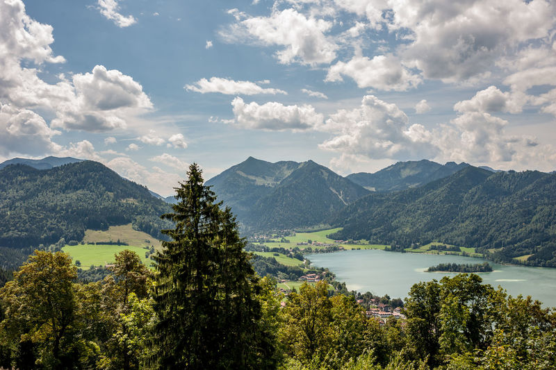 Lake side view Bavaria EyeEm Best Shots EyeEm Nature Lover Panorama Adventure Beauty In Nature Cloud - Sky Day Environment Germany Lake Landscape Mountain Mountain Range Nature No People Non-urban Scene Outdoors Photography Plant Scenics - Nature Sky Travel Destinations Tree Water