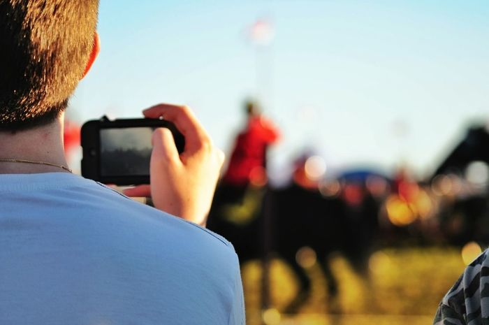 The Minimals (less Edit Juxt Photography) Canada, Eh? RCMP Musical Ride People Taking Pictures Of People Taking Pictures