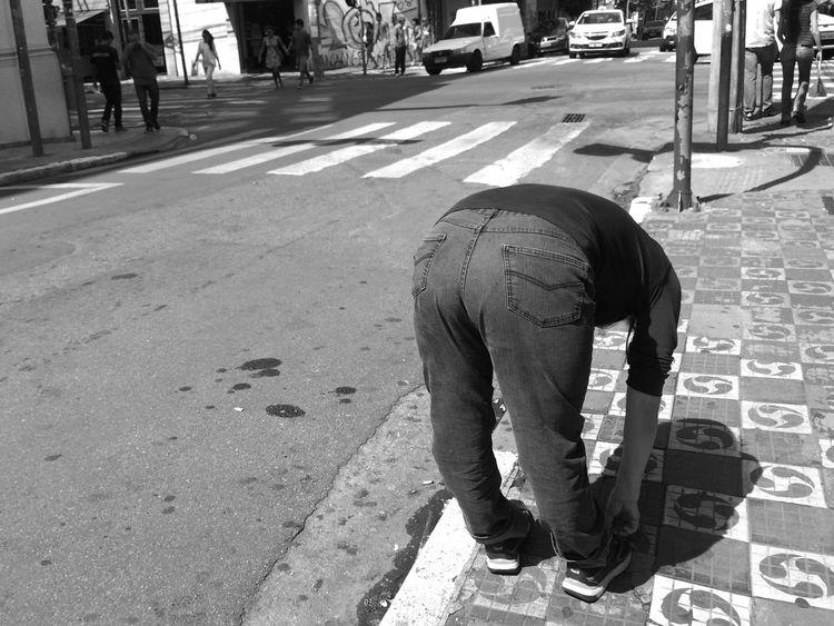 """Pretend like you're getting your passport photo taken"". April, 2015 Blackandwhite The Street Photographer - 2015 EyeEm Awards"