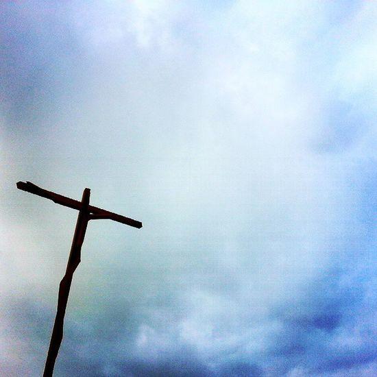 ... [santuário de fátima, portugal] Santuario Fátima Cristo Cruz Crucificado Céu Nuvens Energía Sanctuary  Christ Cross Crucified Sky Energy