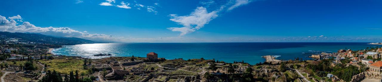 Jbeil Ruins Panorama Sea View