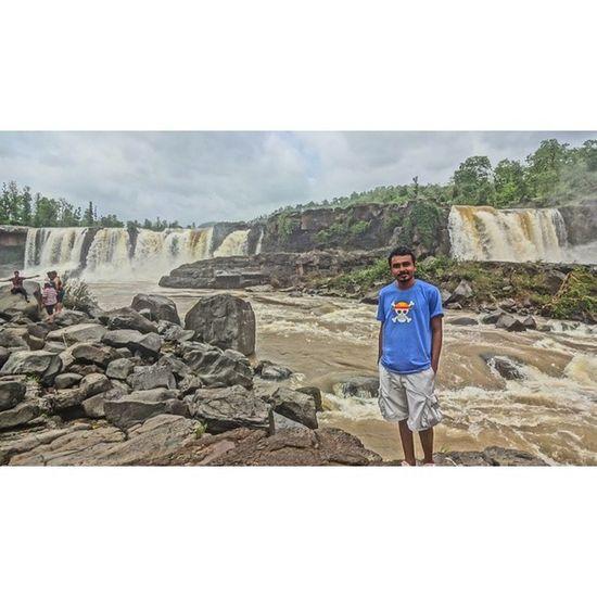 Girafalls Monsoon Instagram_ahmedabad @instagram_ahmedabad India_gram instaphotography @instagram_gujarat instagram_gujarat rain rocks river raging