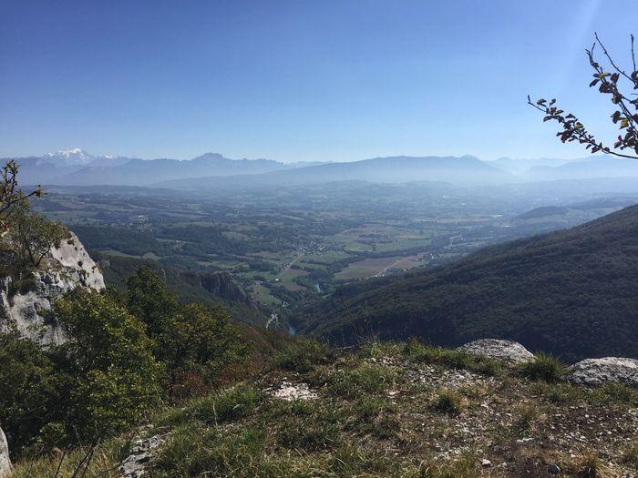Massif Des Bauges / Albanais / Mont Blanc Mountain Landscape Beauty In Nature Countryside Hautesavoie