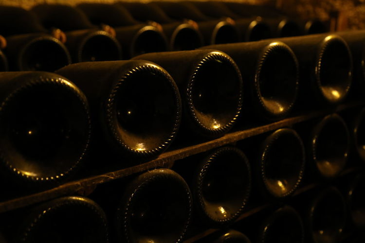 Abundance Alcohol Backgrounds Bottle Cellar Close-up Day Drink Food And Drink Full Frame In A Row Indoors  Large Group Of Objects No People Shelf Wine Wine Bottle Wine Cellar Wine Rack Winemaking Winery