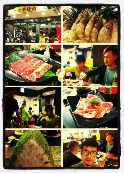 It's very delicious BBQ in Taipei ... ^^
