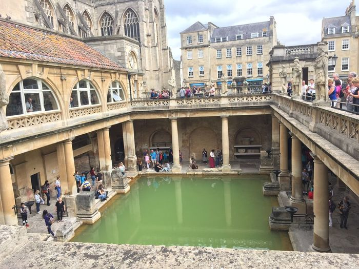 Bath Roman Bath Architecture Real People Building Exterior Tourism Day Travel Destinations Outdoors City Tranquility England🇬🇧