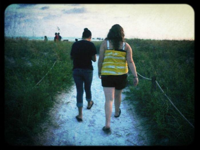 Tbt, Walking The Beach