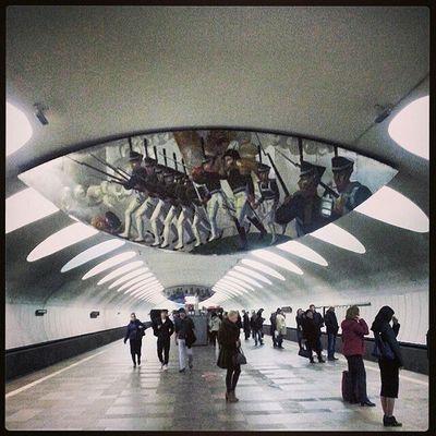 "станция метро ""отрадное "" Inmetropoliten Metrooverhear @inmetropoliten @metrooverhear"