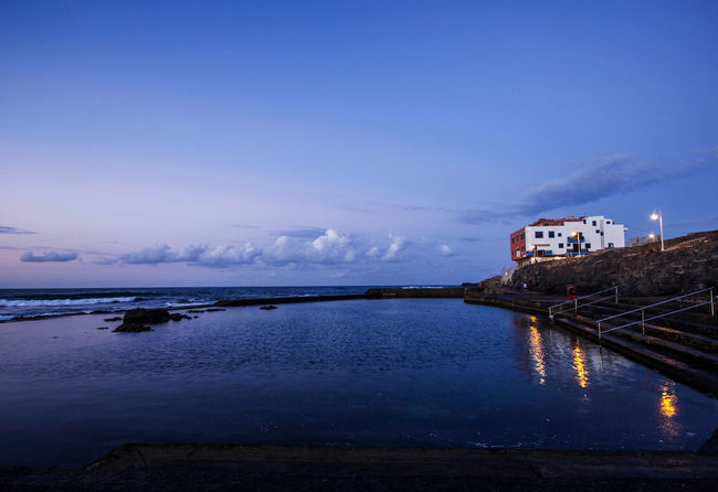 Canary Islands Gran Canaria Gáldar Islas Canarias Beachphotography Blue Blue Sky Coast Natural Pool Nature North Reflection Tranquil Scene Tranquility Water
