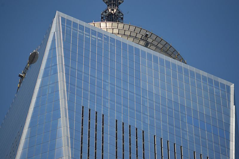 World Trade Center Low Angle View Architecture Building Exterior Sky Skyscraper Modern Clear Sky Outdoors City No People Day