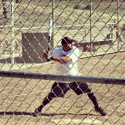 Softball season is almost over, love the game! Softball Slowpitchsoftball Baseball Recleague batting