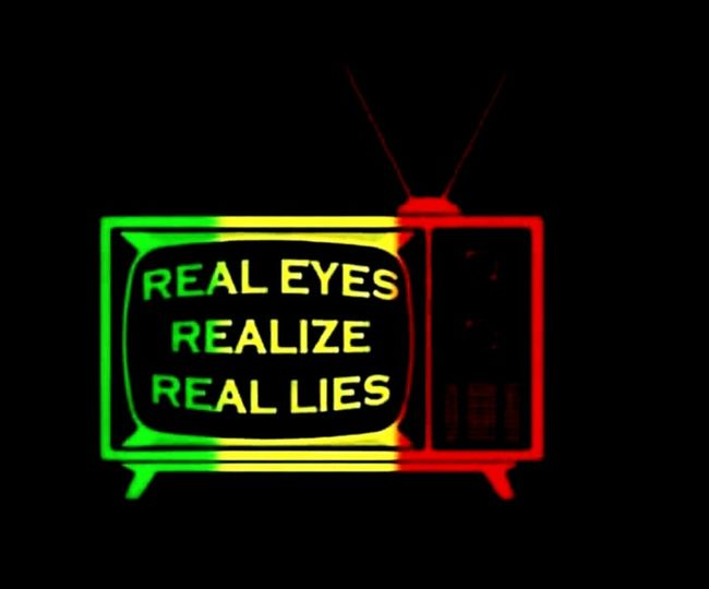 Turn Off Your Tv Blue Or Red Pill Neon Illuminated Red Glowing Neon Colored