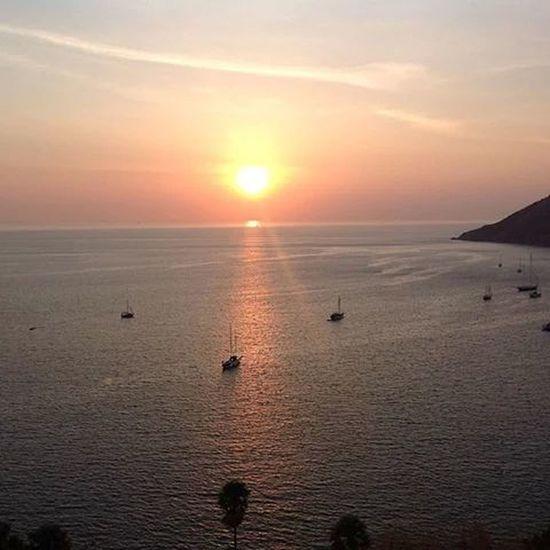 Beautiful Sunset Sea And Sky Italy