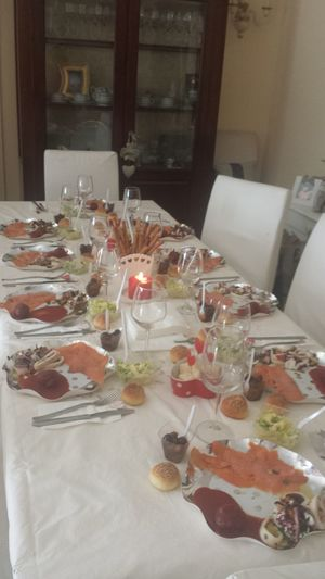 Buon pranzo di Natale... goodlunch of Christmas table 🎄🎅⛄❤ Christmastime Goodlunch 25december  2015