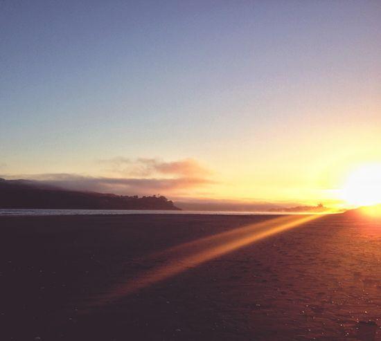 Sunrise Mobilephotography Beach Sunrise IPhoneography Light And Shadow Black Sand Beach Sun Rays Sun And Sea Raglan Nz 43 Golden Moments