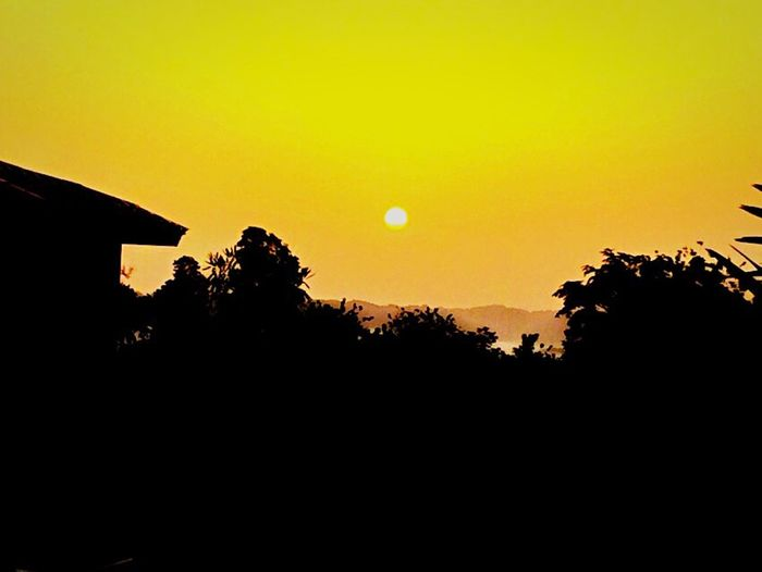 Beautiful sunrise in utuado,puertorico.