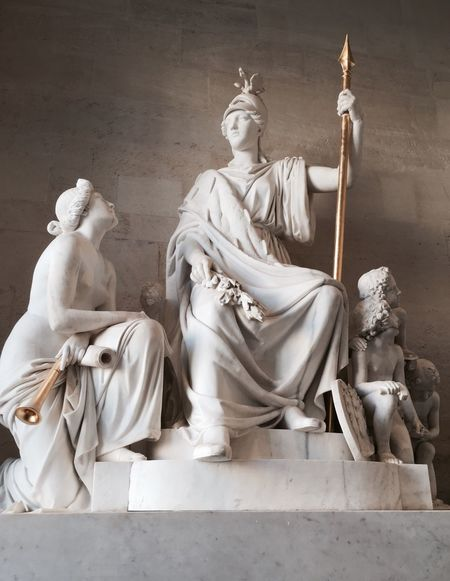 Human Representation Statue Indoors