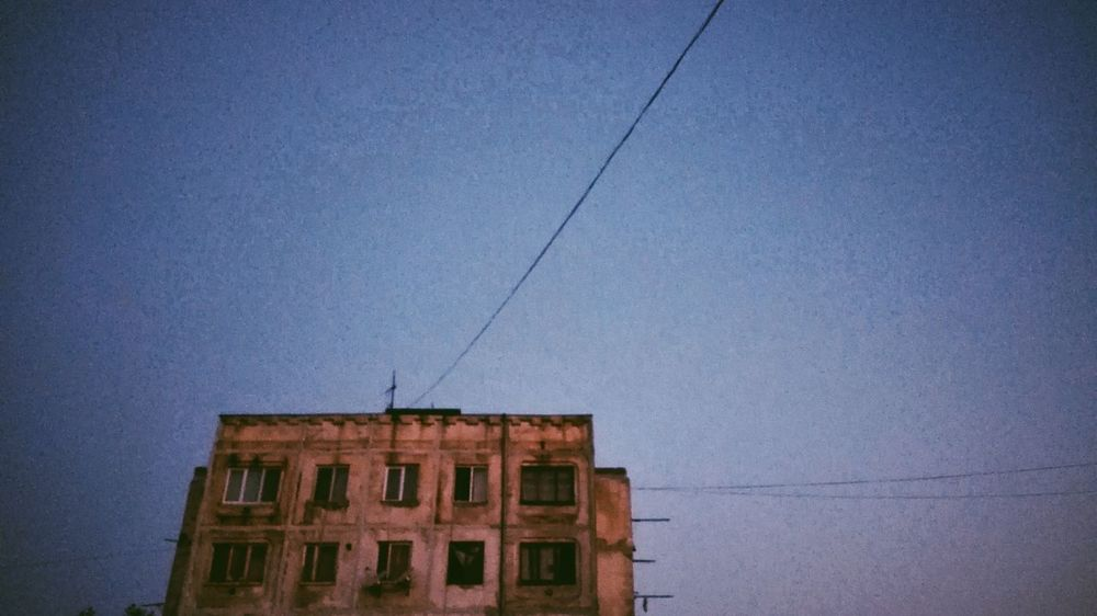Building Exterior Architecture Built Structure Cable Outdoors No People Night Sky