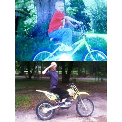 TransformationTuesday I was born to ride bro...