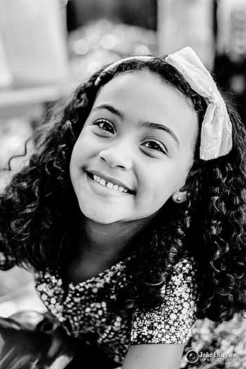 Sarah Portrait Smiling Looking At Camera Headshot One Person Curly Hair Enjoyment People Child Childhood Day Girls Human Face