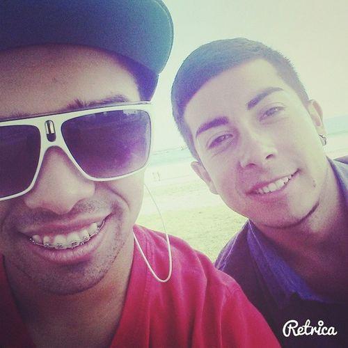Con el Bro ✌