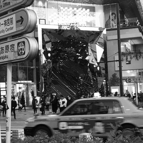 City Streetphotography Architecture Day JapanLife Tokyo Meiji-Jingu Crossing SHOPS DESIGN