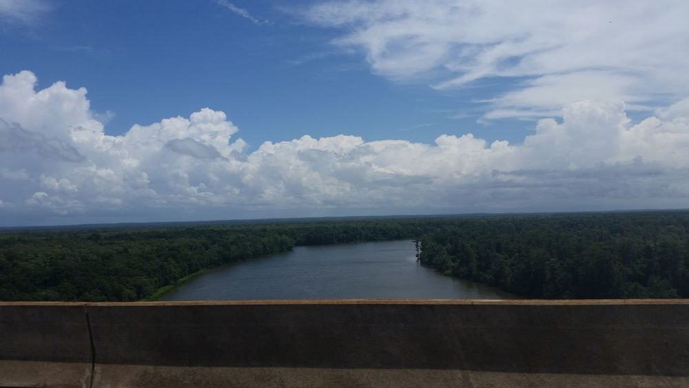 View Sky And Clouds Alabama Outdoors Beautiful Nature Beauty In Nature Nature Water River View Check This Out Delta