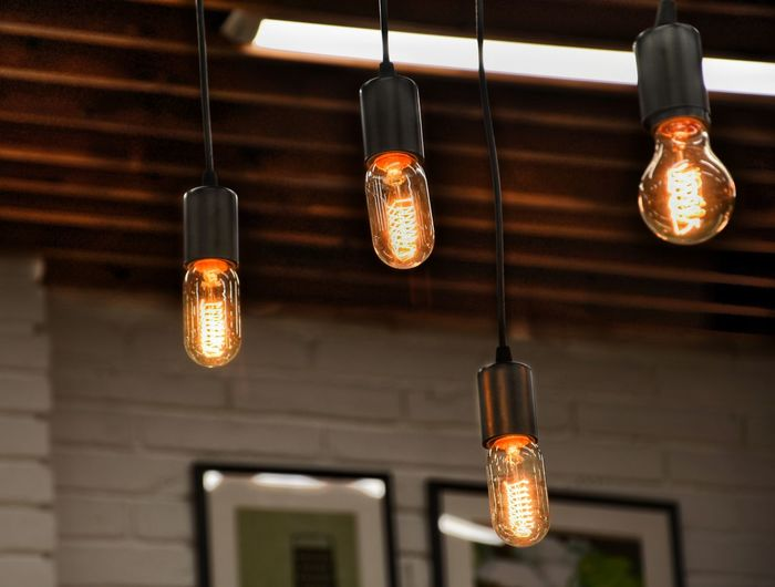 Hanging Lighting Equipment Light Bulb Illuminated Electric Light Electric Lamp Electricity  No People Home Interior Low Angle View Filament Lantern Indoors  Close-up