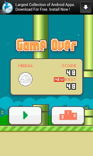 ahhh :) Flappy Bird