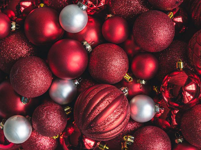 Full frame shot of christmas decoration