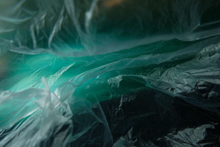 Full frame shot of plastic bag