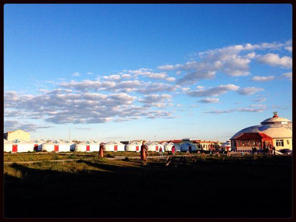 Inner Mongolia Mongolian yurt?Or a ger?