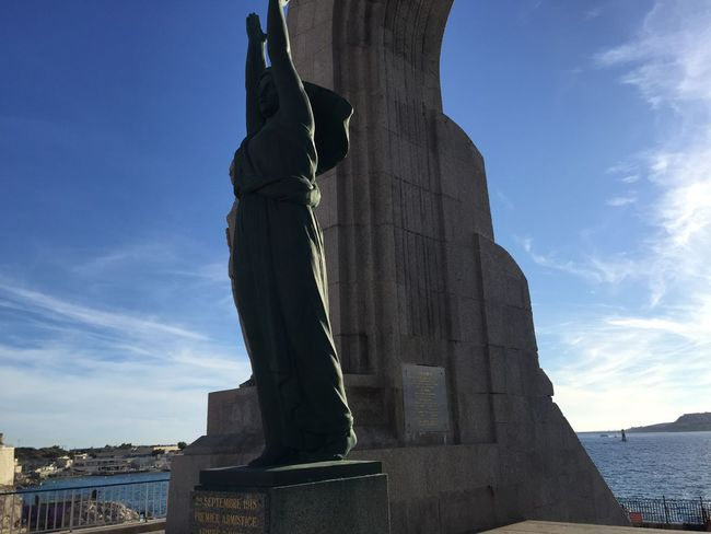 Vallon Des Auffes Ported'Orient Historical Monuments Marseille France