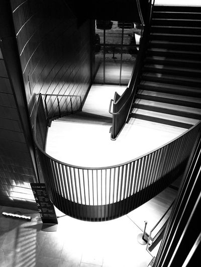 Indoors  Architecture Railing Staircase Built Structure Flooring EyeEmNewHere