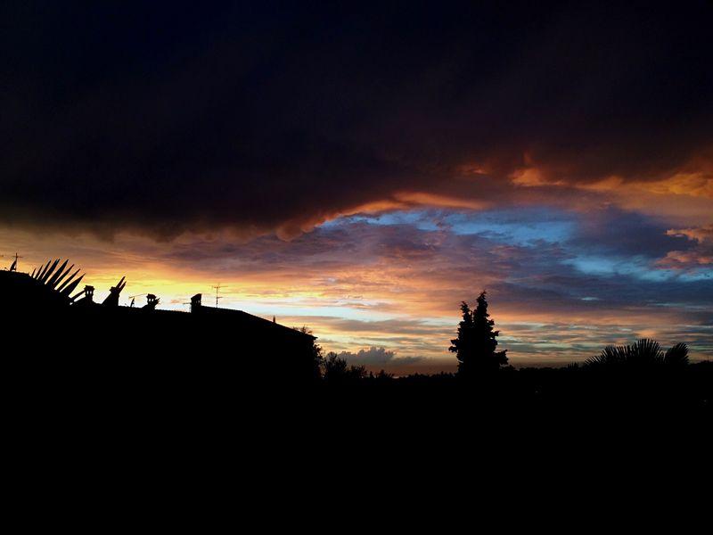 Cool sky Cool Sky Scary Sky Sunset Clouds Porec
